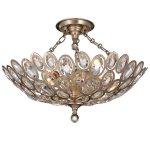 Sterling 3 Light Distressed Twilight Ceiling Mount