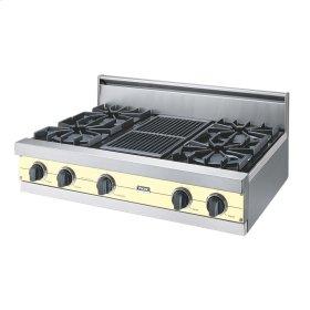 "Lemonade 36"" Open Burner Rangetop - VGRT (36"" wide, four burners 12"" wide char-grill)"