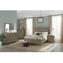 Harper Falls Lodge Grey Queen Bed