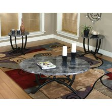 CR-72130  3 Piece Coffee & End Table Set