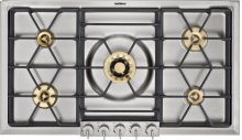 """200 series Stainless steel control panel Width 36"""" (90 cm) Natural gas"""