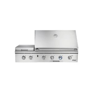 "DacorDiscovery 36"" Outdoor Grill with Chrome Trim (order in conjunction with OBC36 Outdoor Grill Cart)"