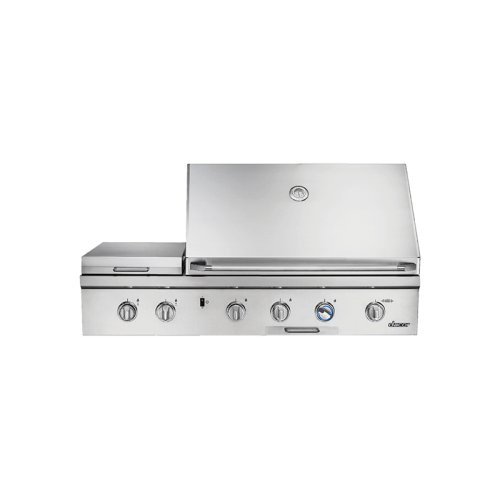 """Discovery 36"""" Outdoor Grill with Searing Burner and with Chrome Trim (order in conjunction with OBC36 Outdoor Grill Cart)"""