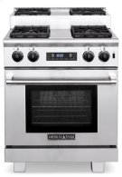 "30"" Titan Step-up Dual Fuel Gas Range Product Image"