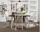 Leg Table W/4 Chairs Product Image