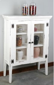 Sunset Trading Cottage 2 Wire Door Accent Cabinet - Sunset Trading Product Image