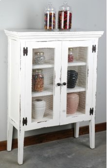 Sunset Trading Cottage 2 Wire Door Accent Cabinet - Sunset Trading