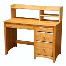 Alder Student Desk Hutch