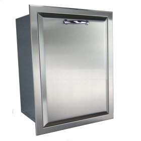 Agape Stainless Trash Drawer - Fully Enclosed
