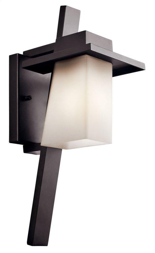 "Stonebrook 17.75"" 1 Light Wall Light Architectural Bronze"