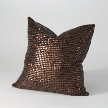 Copper Beaded Pillow