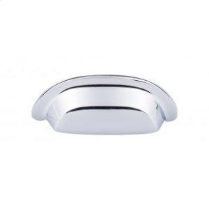 Aspen II Cup Pull 3 Inch (c-c) - Polished Chrome