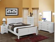 5Pc. Louis Philip White Bedroom Suite Product Image