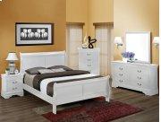 5Pc. Louis Philip White Bedroom Suite Product Image