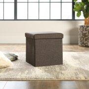 Upholstered Storage Ottoman Product Image