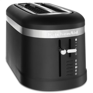 KITCHENAID4 Slice Long Slot Toaster with High-Lift Lever - Black Matte