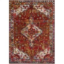 Red / Multi Rug
