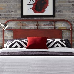 LIBERTY FURNITURE INDUSTRIESQueen Metal Headboard - Red