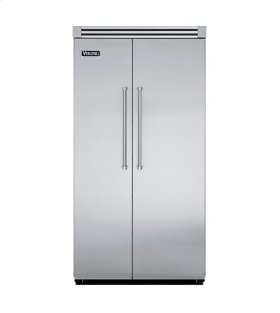 "White 42"" Side-by-Side Refrigerator/Freezer - VISB (Integrated Installation)"