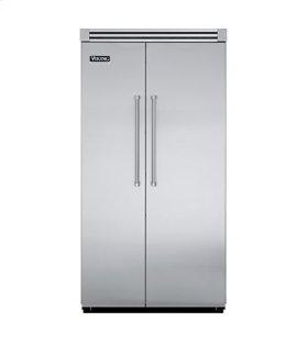 "White 42"" Side-by-Side Refrigerator/Freezer - VISB (Integrated Installation)"