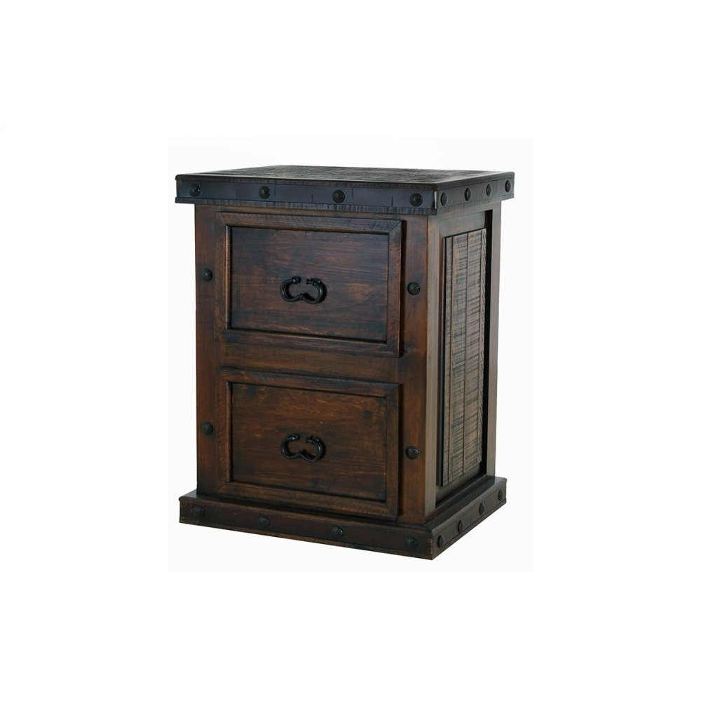 Gran Hacienda 2 Drawer File Cabinet