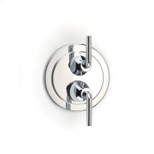 Dual Control Thermostatic with Diverter and Volume Control Valve Trim Taos (series 17) Polished Chrome