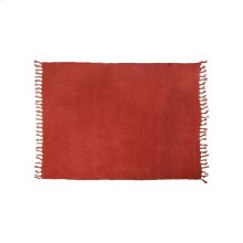 Lemmy Heavy Linen Throw Rust