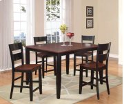 Black & Cherry Pub Dining Set Product Image