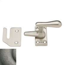 Distressed Antique Nickel Casement Fastener