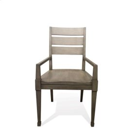 Vogue Arm Chair Gray Wash finish