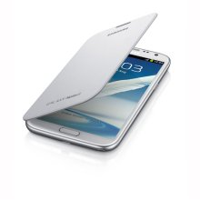 Galaxy Note II Flip Cover, MARBLE WHITE