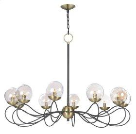Reverb 10-Light Pendant w/LED Bulbs