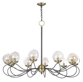 Reverb 10-Light Pendant w/LED Bulbs