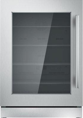 24 inch UNDER-COUNTER GLASS DOOR REFRIGERATION T24UR910LS