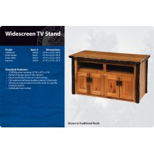 Hickory Widescreen Television Stand