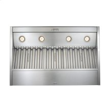 "64-3/8"" Stainless Steel Built-In Range Hood with Internal Super Pro 1200 CFM Blower"