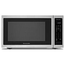 "21 3/4"" Countertop Convection Microwave Oven - 1000 Watt - Stainless Steel"