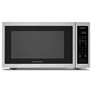 "Kitchenaid21 3/4"" Countertop Convection Microwave Oven with PrintShield Finish - 1000 Watt - Stainless Steel"