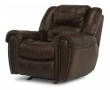 Crosstown Leather Gliding Recliner