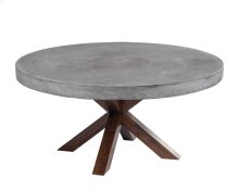 Warwick Round Dining Table - Grey