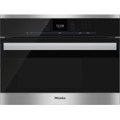 DG 6600 - Built-in steam oven with a large text display and SensorTronic controls for extra convenience.