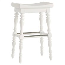 Retreat-5 O'Clock Somewhere Bar Stool in Saltbox White