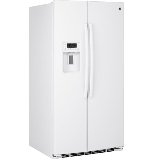 GE® ENERGY STAR® 25.9 Cu. Ft. Side-By-Side Refrigerator with Dispenser