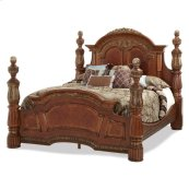 Cal King Low Poster Bed