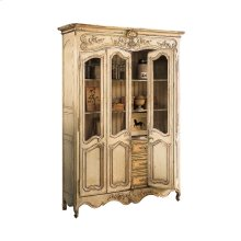 Louis XV Bibliothèque with Glass