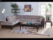 San Marino Ebony / Olympian Platinum Sectional Product Image