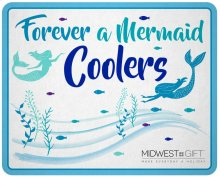 Mermaid Beverage Cooler Sign.