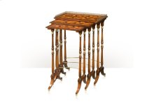 The South Drawing Room Parquetry Nest of Tables - Parquetry Inlaid