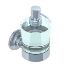 Wall Mounted Dispenser of Liquid Soap