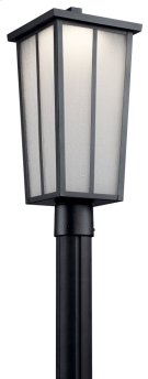 Amber Valley LED Post Light Textured Black Product Image